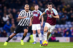 Jack Cork of Burnley takes on Jose Salomon Rondon of Newcastle United - Mandatory by-line: Robbie Stephenson/JMP - 26/11/2018 - FOOTBALL - Turf Moor - Burnley, England - Burnley v Newcastle United - Premier League
