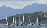 Largs Regatta Festival 2018<br /> <br /> RS200 Fleet, Start<br /> <br /> Images: Marc Turner