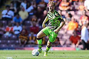 Forest Green Rovers Matt Mills(5) during the EFL Sky Bet League 2 match between Bradford City and Forest Green Rovers at the Utilita Energy Stadium, Bradford, England on 24 August 2019.