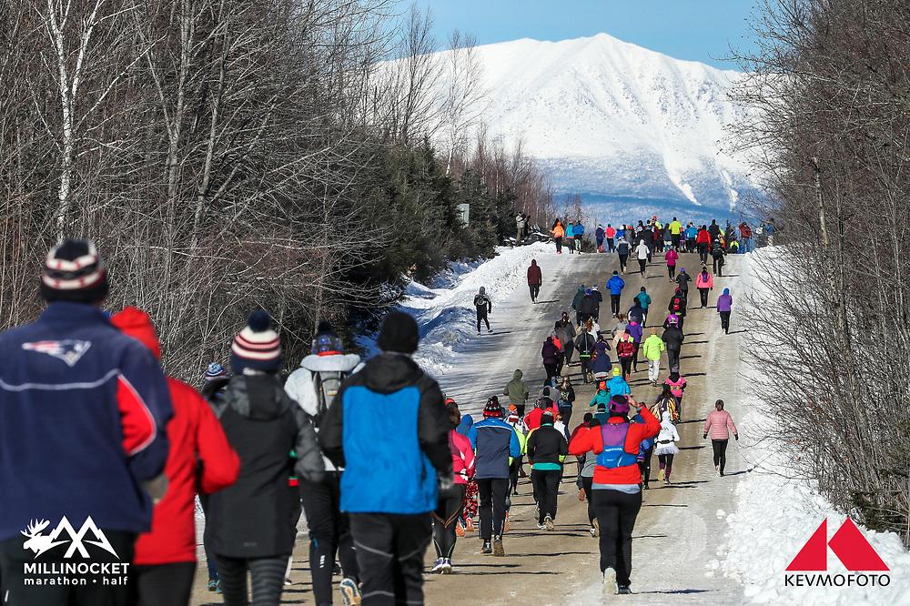 Millinocket Marathon and Half<br /> Golden Road, Mount Katahdin