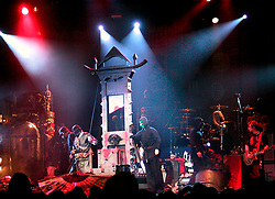 Alice Cooper Stage Show Alice with his head in the Guillotine<br />