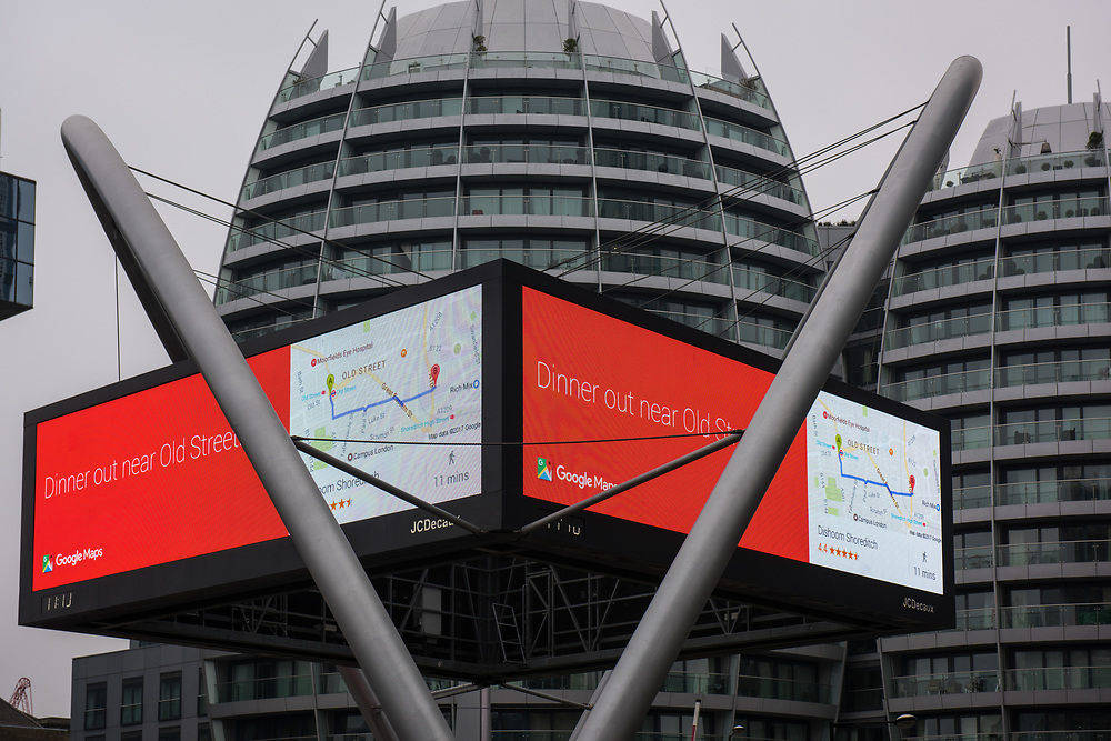 Areas around Shoreditch and Old Street 'Silicon Roundabout'.