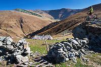 Southern Carpathians, Munții Ṭarcu, Caraș-Severin, Romania.