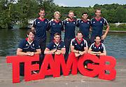 Caversham, Nr Reading, Berkshire.<br /> <br /> GBR M8+. Bacl Lto R, Scott DURANT, Andy TRIGGS HODGE&lt; Will SATCH, Matt GOTREL, Paul BENNETT, fort left Tom RANSLEY, Pete REED Matt LANGRIDGE and Phelan HILL, Olympic Rowing Team Announcement  Press conference at the RRM. Henley.<br /> <br /> Thursday  09.06.2016<br /> <br /> [Mandatory Credit: Peter SPURRIER/Intersport Images]