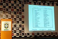 20100511: RIO DE JANEIRO, BRAZIL - Brazil's National Team coach Carlos Dunga announces Brazilian team list for 2010 World Cup. In picture: . PHOTO: CITYFILES