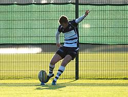 Nathan Chamberlain (SGS College) of Bristol Rugby Academy U18 - Mandatory by-line: Paul Knight/JMP - 21/01/2017 - RUGBY - SGS Wise Campus - Bristol, England - Bristol Academy U18 v Saracens Academy U18 - Premiership Rugby Academy U18 League