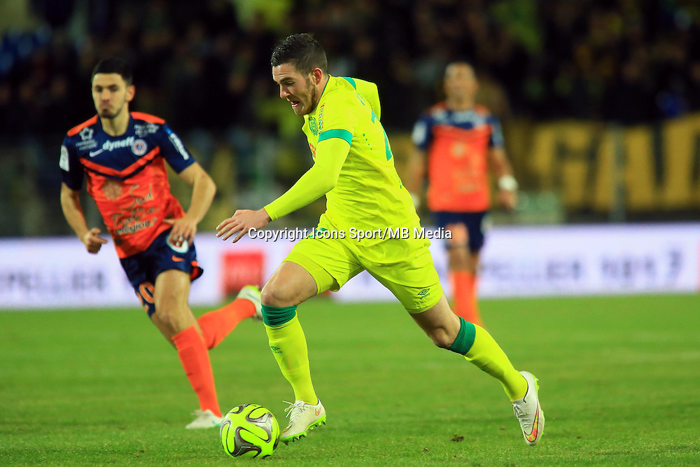 Jordan VERETOUT  - 24.01.2015 - Montpellier / Nantes  - 22eme journee de Ligue1<br />