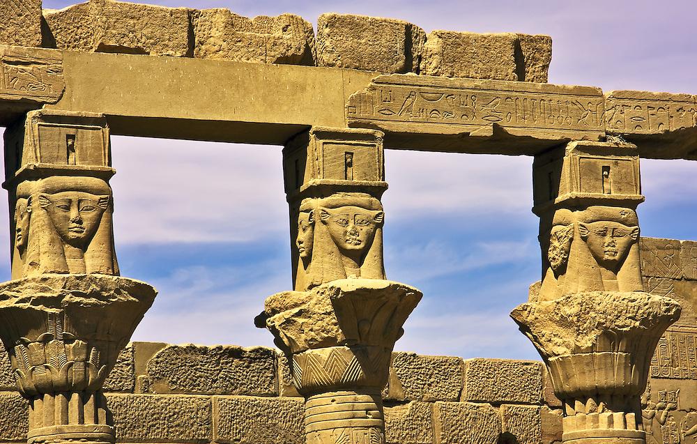 Philae columns