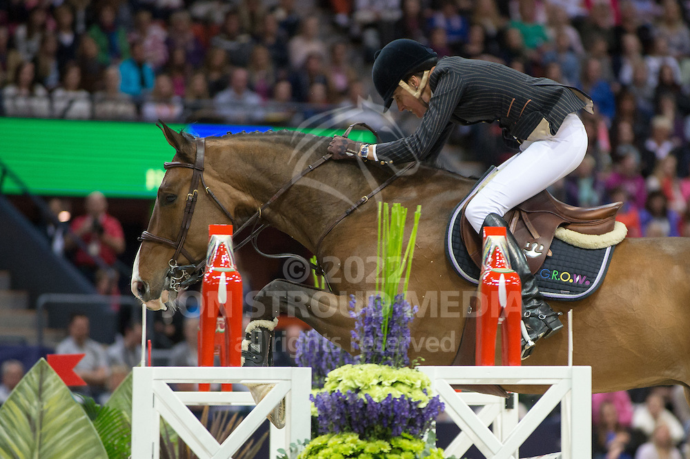 Luciana Diniz (POR) & Lennox - Rolex FEI World Cup Jumping Final 2 - Gothenburg Horse Show 2013 - Scandinavium, Gothenburg, Sweden - 26 April 2013