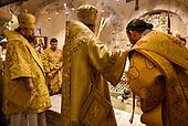 Italy, Apulia. The Russian pilgrims looking for Santa Klaus.