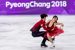 GANGNEUNG, SOUTH KOREA - FEBRUARY 20: Maia Shibutani and Alex Shibutani of USA compete during the Figure Skating Ice Dance Free Dance program on day eleven of the PyeongChang 2018 Winter Olympic Games at Gangneung Ice Arena on February 20, 2018 in Gangneung, South Korea. Photo by Ronald Hoogendoorn / Sportida