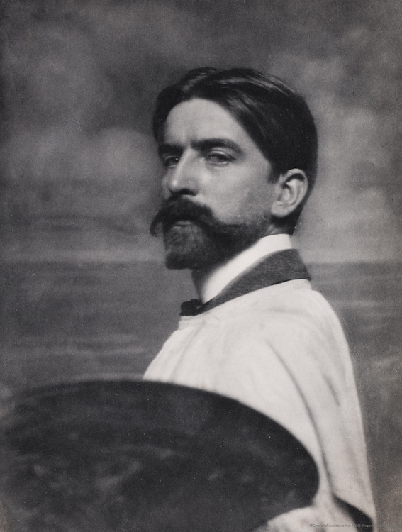 Harold Speed, artist, England, UK, 1912