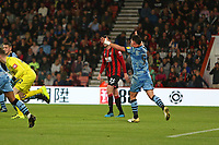 Football - 2019 / 2020 EFL Carabao (League) Cup - Second Round: AFC Bournemouth vs. Forest Green Rovers<br /> <br /> Matty Stevens of Forest Green Rovers appeals after his effort is cleared off the line during the EFL cup tie at the Vitality Stadium (Dean Court) Bournemouth <br /> <br /> COLORSPORT/SHAUN BOGGUST