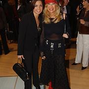 Presentatie nieuwe BMW modellen, Rosanna Lima en Mary Borsato
