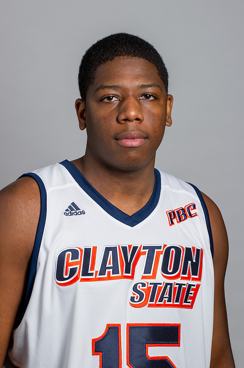 Oct. 15, 2013; Morrow, GA, USA; Portraits of basketball teams at Clayton State University. Photo by Kevin Liles / kevindliles.com