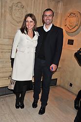 CAROL VORDERMAN and GRAHAM DUFF at Cirque du Soleil's VIP night of Kooza held at the Royal Albert Hall, London on 8th January 2013.