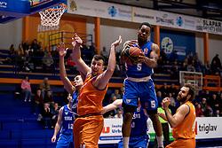 Rashun Davis of KK Rogaska during basketball match between KK Helios Suns and KK Rogaska in ABA League Second division, on October 31, 2018 in Sports hall Domzale, Domzale, Slovenia. Photo by Urban Urbanc / Sportida