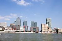 Skyline of Canary Wharf