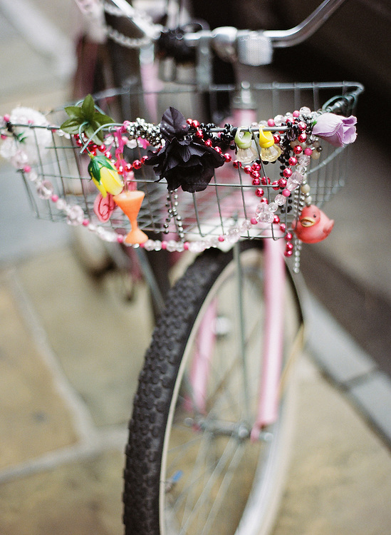 bicycle, new orleans, louisiana, lifestyle, beads