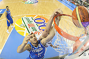 ALICANTE 03 SETTEMBRE 2007<br /> BASKET EUROPEI<br /> ITALIA-FRANCIA <br /> NELLA FOTO CROSARIOL<br /> FOTO CIAMILLO-CASTORIA