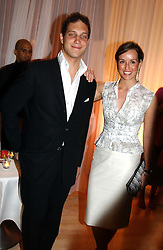 LORD FREDERICK WINDSOR and LADY ROSE INNES-KER at a party at The Sanderson Hotel, Bernnnnners Street, London in aid of Sargent Cancer Care for Children on 7th July 2004.