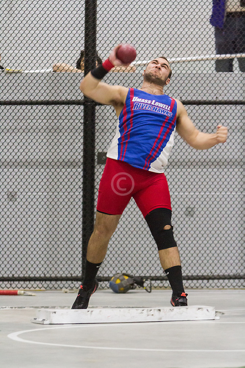 Boston University John Terrier Classic Indoor Track & Field: mens shot put, UMass Lowell