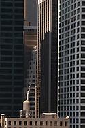 New York. Manhattan skyline south.  New york - United states  /  le skyline des gratte ciel du sud de Manhattan.  New york - Etats unis