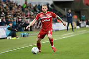 Adam Clayton (8) of Middlesbrough on the attack during the EFL Sky Bet Championship match between Swansea City and Middlesbrough at the Liberty Stadium, Swansea, Wales on 14 December 2019.