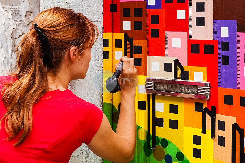Arte callejero. ( Street art ) ©© Javier I. Sanchís / PILAR REVILLA