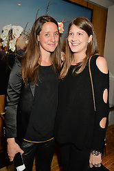 Left to right, INDIA LANGTON and PRINCESS FLORENCE TOLLEMACHE at the Louis Vuitton for Unicef Event #MAKEAPROMISE held at The Apartment, 17-20 New Bond Street, London on 14th January 2016.