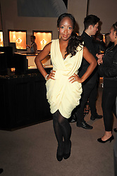 Angellica Bell at a party to celebrate the publication of Inheritance by Tara Palmer-Tomkinson at Asprey, 167 New Bond Street, London on 28th September 2010.