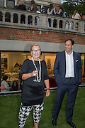 FREDA UZIYEL; PIERRE MOLLOFF, Dinner to celebrate the 10th Anniversary of Contemporary Istanbul Hosted at the Residence of Freda & Izak Uziyel, London. 23 June 2015