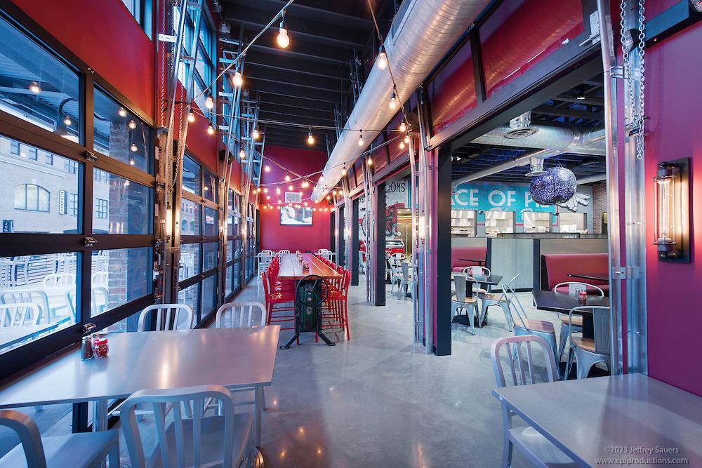 Blacksburg Mellow Mushroom Restaurant Interior Image In Virginia By Jeffrey Sauers Of Commercial Photographics Architectural