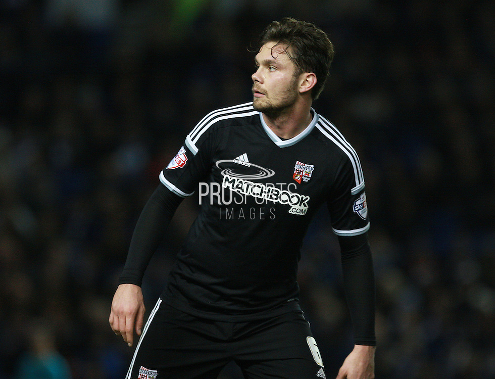 Brentford midfielder Alan Judge during the Sky Bet Championship match between Brighton and Hove Albion and Brentford at the American Express Community Stadium, Brighton and Hove, England on 5 February 2016. Photo by Bennett Dean.