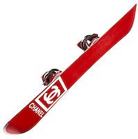 Chanel snowboard on white background