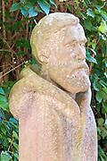 Denkmal Polarforscher Carl Weyprecht, Bad König, Odenwald, Naturpark Bergstraße-Odenwald, Hessen, Deutschland
