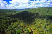 Aerial, Kinzua State Park, McKean County PA