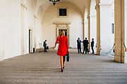 Palazzo del Quirinale il Presidente del Consiglio incaricato presenta la lista dei ministri del nuovo Governo. Roma 04 Settembre 2019. Christian Mantuano / OneShot