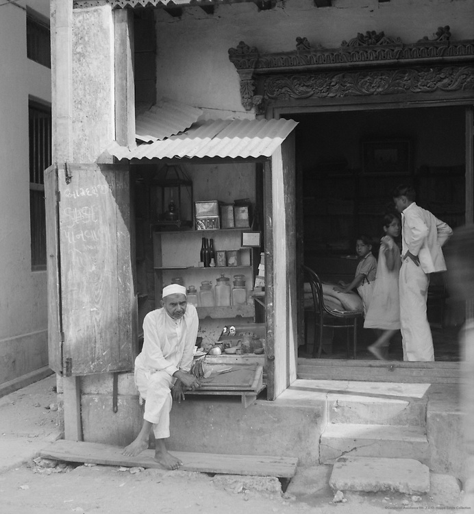 Store Front, Mombasa, Kenya, Africa, 1937
