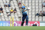 Alice Davidson-Richards of Yorkshire Diamonds batting during the Women's Cricket Super League match between Southern Vipers and Yorkshire Diamonds at the Ageas Bowl, Southampton, United Kingdom on 8 August 2018.