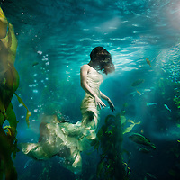 """UnderCurrents"" A surrealistic underwater photography series by Nate Dorn."