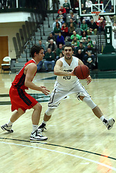10 January 2015:  Pat Sodemann during an NCAA mens division 3 CCIW basketball game between the Carthage Reds and the Illinois Wesleyan Titans in Shirk Center, Bloomington IL