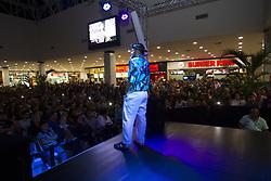 May 30, 2017 - O comediante Matheus Ceará durante show de humor apresentado no Projeto ''Palco Itaquera'', em comemoração ao aniversário de 10 anos do Shopping Metrô Itaquera, situado na Zona Leste de São Paulo, SP. (Credit Image: © Emerson Santos/Fotoarena via ZUMA Press)