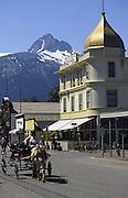 Skagway, Alaska, (editorial use only, no model release)<br />