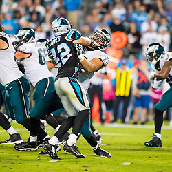 The Philadelphia Eagles at Carolina Panthers football game in Charlotte, North Carolina October 25, 2015.<br /> Walter G. Arce Sr./ASP Inc./Athlon Sports