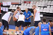 DESCRIZIONE: Torino FIBA Olympic Qualifying Tournament Allenamento<br /> GIOCATORE: Ettore Messina <br /> CATEGORIA: Nazionale Italiana Italia Maschile Senior  Allenamento<br /> GARA: FIBA Olympic Qualifying Tournament Allenamento<br /> DATA: 07/07/2016<br /> AUTORE: Agenzia Ciamillo-Castoria