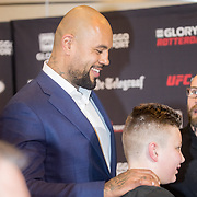 NLD/Amsterdam/20180207 - Persconferentie GLORY 51 i.a.v. Badr Hari & Hesdy Gerges,