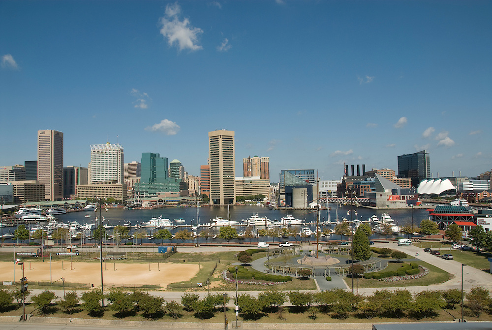 Baltimore City Maryland, Inner Harbor