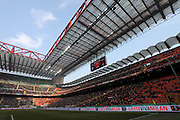 The San Siro Stadium - Giuseppe Meazza Stadio - the shared home of Inter Milan  - Internazionale and AC Milan