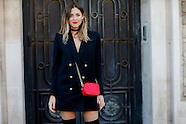 Paris - Street Style - 29 Sep 2016